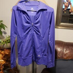Adidas purple jacket